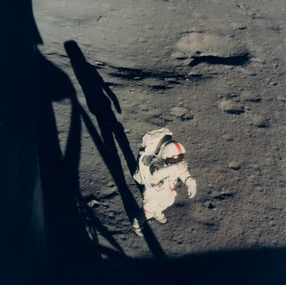 NASA - Edgar Mitchell Apollo 14, 5 février...
