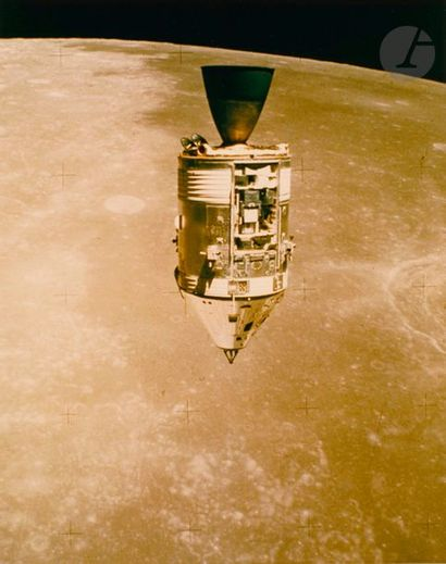 NASA Apollo 15, 31 juillet 1971. Module de...