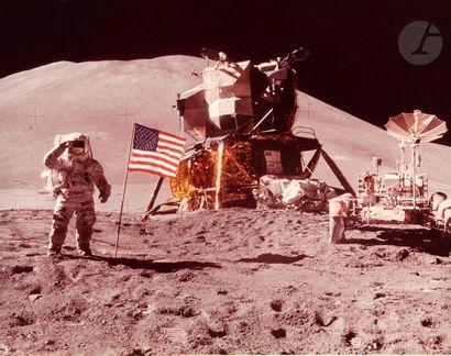 NASA - David Scott Apollo 15, 1er août 1971....