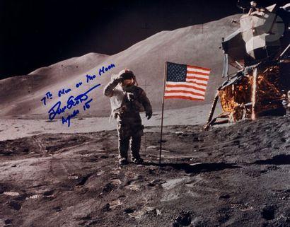 NASA - James Irwin Apollo 15, 1er août 1971....