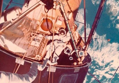 NASA Station spatiale Skylab, 1974. Le module...