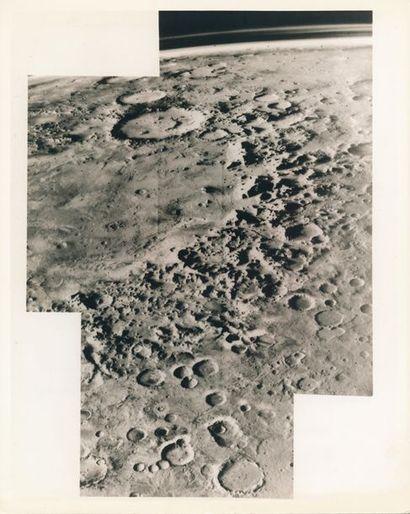 NASA Vue oblique de la planète Mars obtenue...
