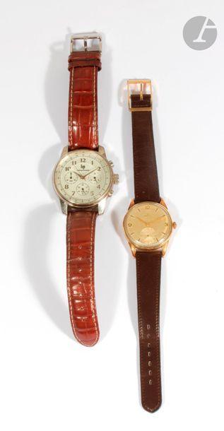 Ensemble de deux montres : - ZENITH. Montre...
