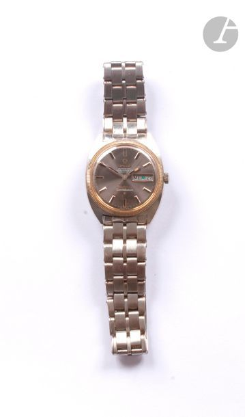 OMEGA Constellation. Vers 1980. Montre bracelet...