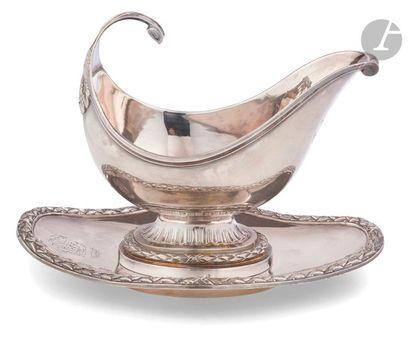 PARIS 1783 - 1784 pour la saucière Saucière...