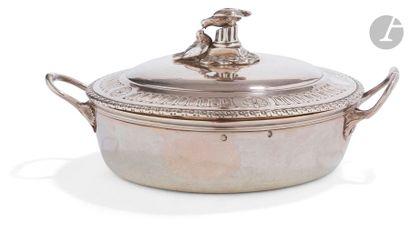 PARIS 1780 - 1781 Petit bouillon couvert...