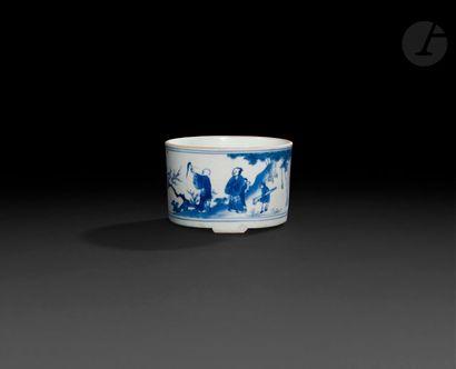 Chine Porte-pinceaux cylindrique reposant...