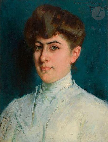 Antonin ROUX-RENARD (Orange 1870- 1936) Portrait...