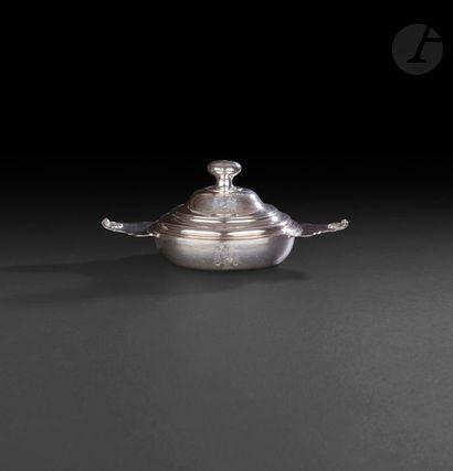 PERPIGNAN 1771 - 1772 Écuelle couverte en...
