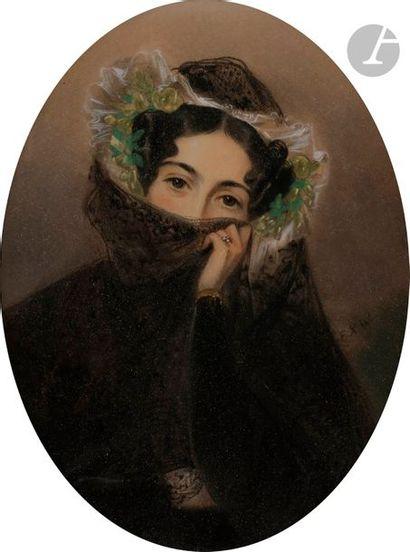 école française du XIXe siècle Femme à la...