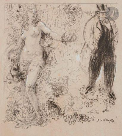 David Osipovitch WIDHOPFF (1867-1933) Allégorie...