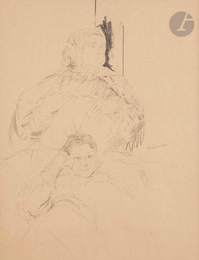 Filipp Andreevitch MALIAVIN (1869-1940) Mère...