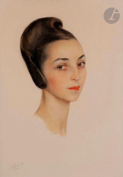 Savely Abramovitch SORINE (1878-1953) Portrait...