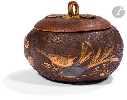 JAPON - Époque MEIJI (1868 - 1912) Boîte...
