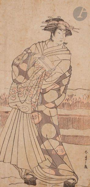 Katsukawa Shunsho (1726 - 1792) Hosoban tate-e,...