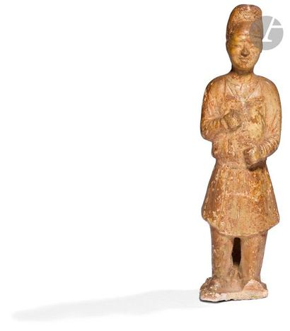 CHINE - Époque SUI (581 - 618) Statuette...
