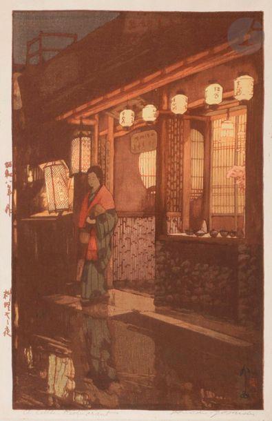 Trois shin-hanga - Yoshida Hiroshi (1876...