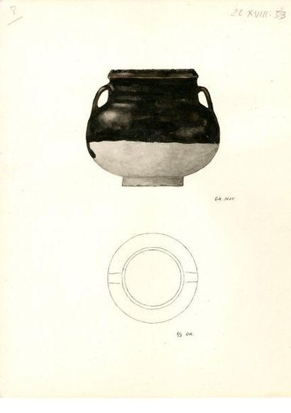 CHINE - Époque YUAN (1279 - 1368) / Époque MING (1368 - 1644) Ensemble comprenant...