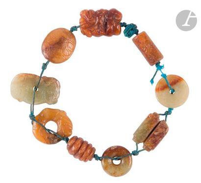 CHINE - Époque MING (1368 - 1644) Bracelet...