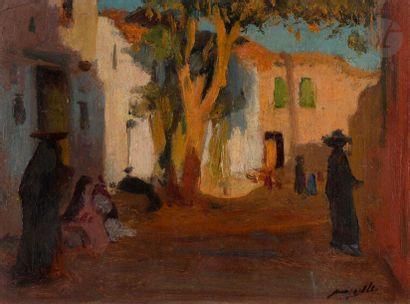 Jacques MAJORELLE (1886-1962) Soir à Marg,...