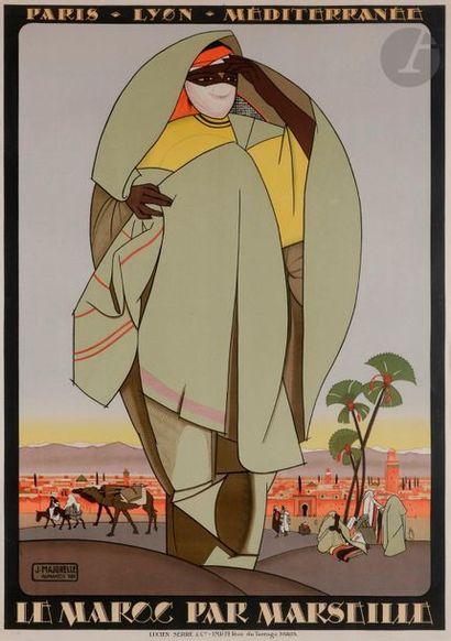 Jacques MAJORELLE (1886-1962) Le Maroc par...