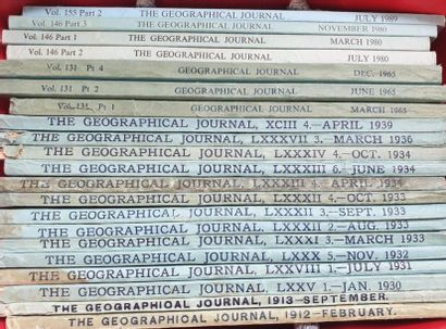 The Geographical Journal, The Royal Geographical...
