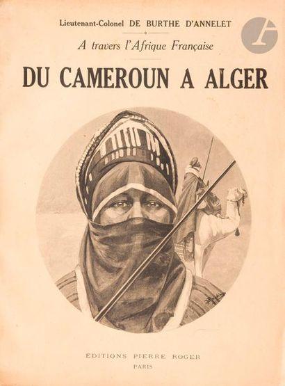 DE BURTHE D'ANNELET A., à travers l'Afrique...