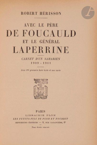 [GéNéRAL LAPERRINE] 5 ouvrages : - GERMAIN...