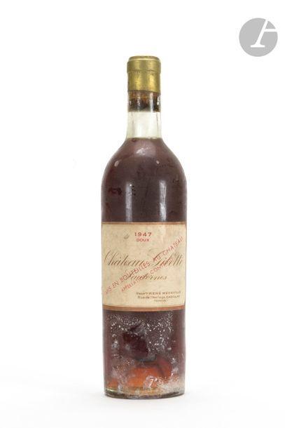 1 B CHÂTEAU GILETTE DOUX (B.G. ; e.t.h.), Sauternes, 1947