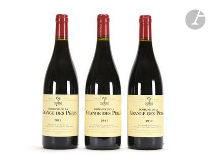 3 B VIN DE PAYS DE L'HÉRAULT Rouge, La Grange des Pères, 2013