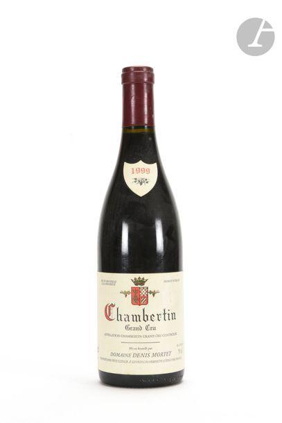 1 B CHAMBERTIN (Grand Cru) e.l.s., Denis Mortet, 1999