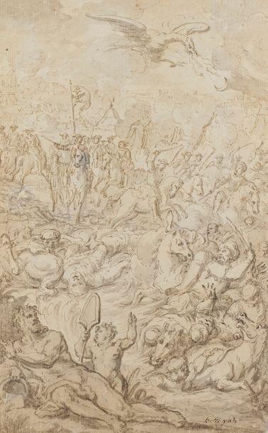 Attribué à Charles MONNET (1732 - 1808)  La...