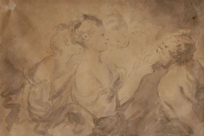 Dans le gout de J.H FRAGONARD (1732 - 1806)...