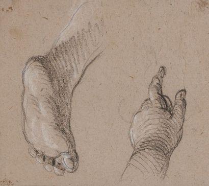 Joseph-François PARROCEL (1704 - 1781)  Étude...