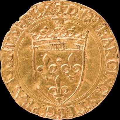 Ecu d'or au soleil - François 1er Début XVIème...