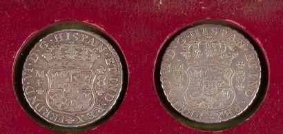 FERDINAND VI (1746-1759). MEXIQUE. LOT de...
