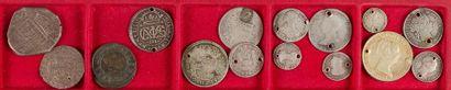 LOT de 15 monnaies divisionnaires (dont 14...