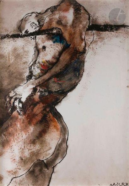 Lydie ARICKX (née en 1954) Homme à la corde...