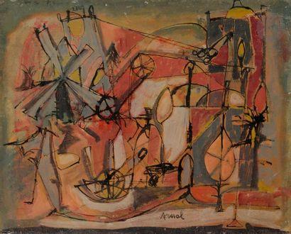 François ARNAL (1924-2012) Composition, vers...
