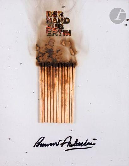Bernard AUBERTIN (né en 1934) Dessin de feu,...