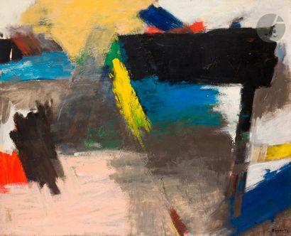Ézéquiel BAROUKH [égyptien] (1909-1984) Composition,...