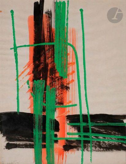 Gianni BERTINI [italien] (1922-2010) Composition...