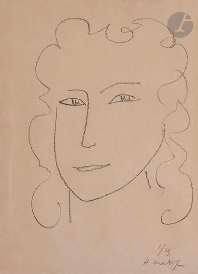 Henri MATISSE (1869-1954) Marguerite I, 1945...