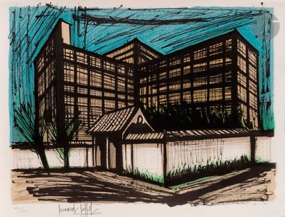 Bernard BUFFET (1928-1999) L'Hôtel Fujita...