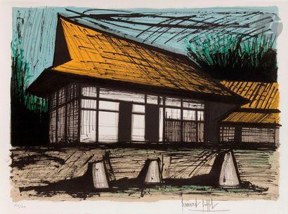 Bernard BUFFET (1928-1999) Le Jardin de pierres...