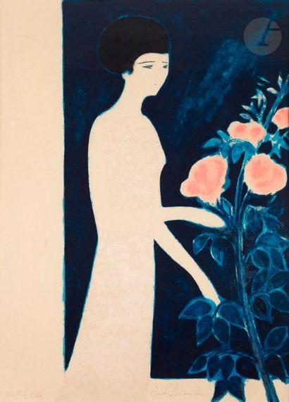 André BRASILIER (né en 1929) Le Parfum des...