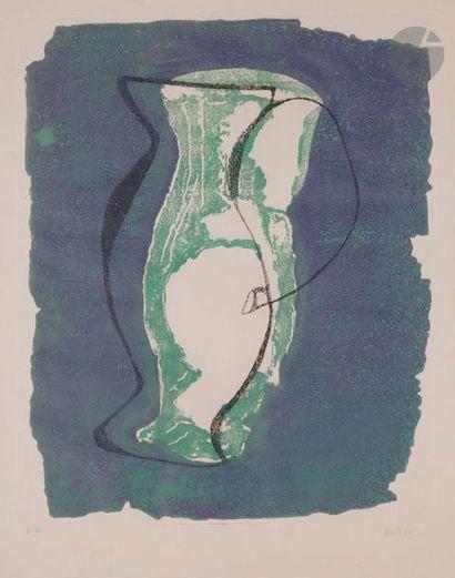 Jean FAUTRIER (1898-1964) Le Pichet, 1947...