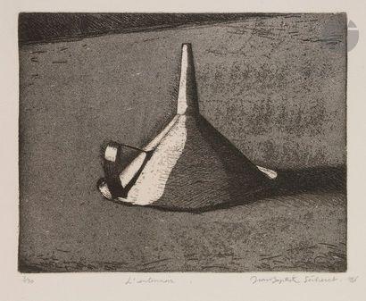 Jean-Baptiste SÉCHERET (né en 1957) L'Entonnoir,...