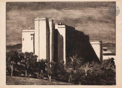 Jean-Baptiste SÉCHERET (né en 1957) Tanger,...