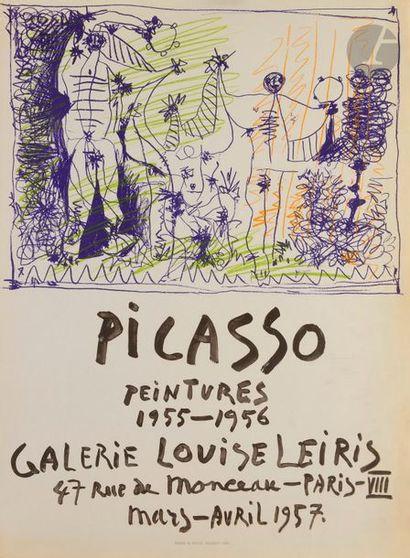 Pablo PICASSO (1881-1973) Affiche pour l'exposition...